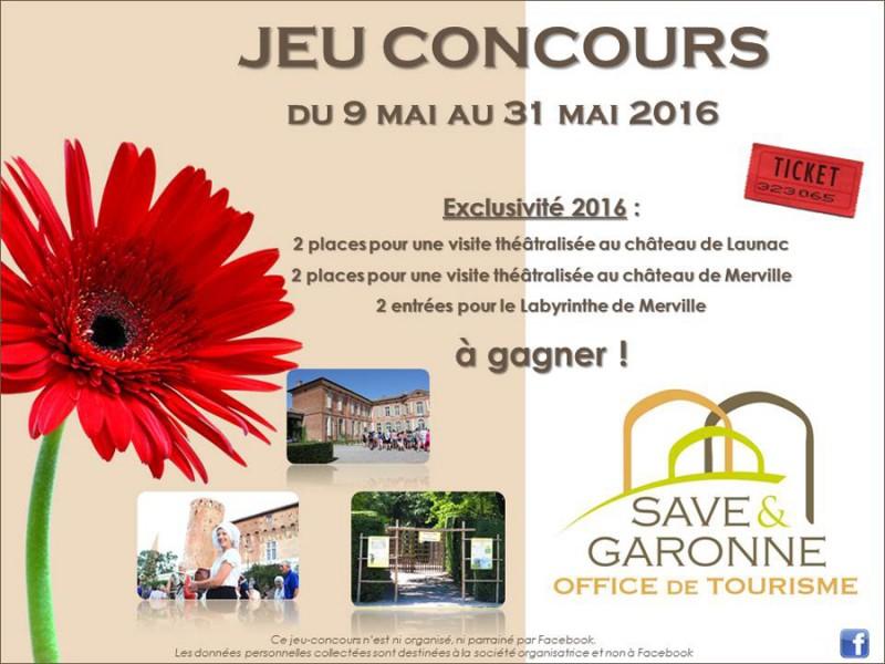 Jeu concours facebook office du tourisme mairie de grenade - Office du tourisme grenade ...