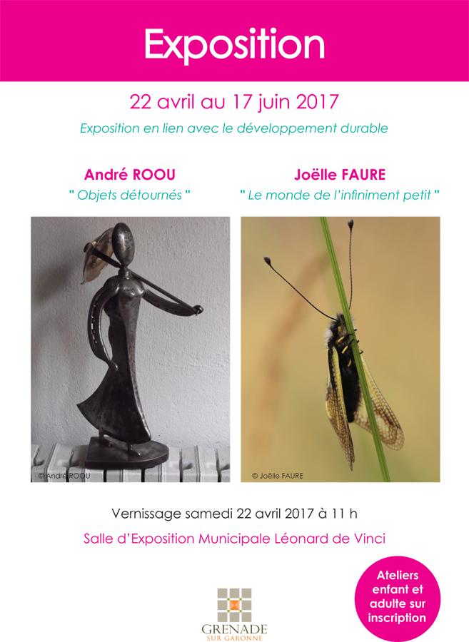 Exposition A.Roou et J.Faure