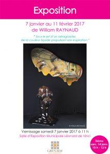 Exposition de William Raynaud @ Salle d'Exposition Municipale   Grenade   Languedoc-Roussillon Midi-Pyrénées   France