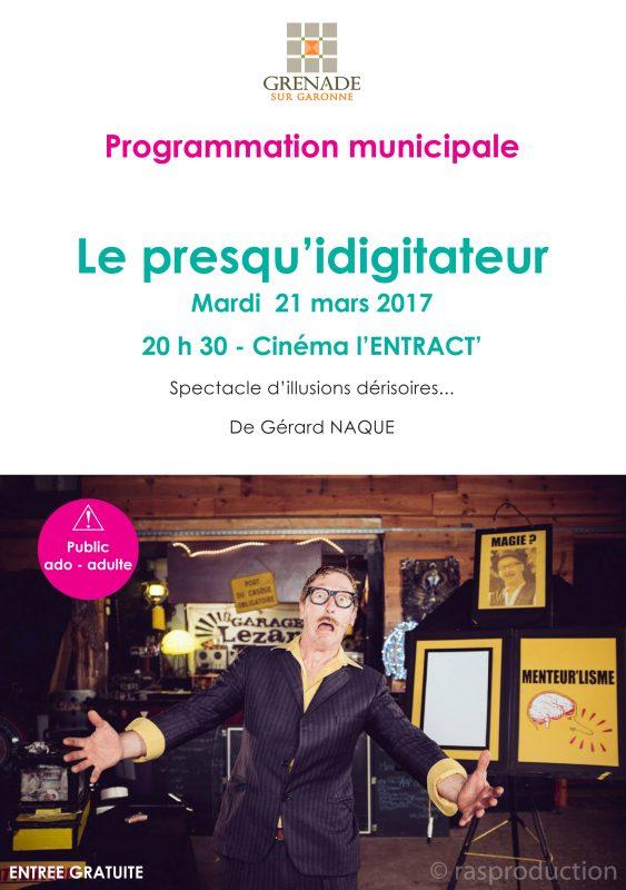 Gérard Naque / Le presqu'idigitateur
