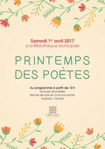 Printemps des poètes @ Bibliothèque Municipale | Grenade | Languedoc-Roussillon Midi-Pyrénées | France
