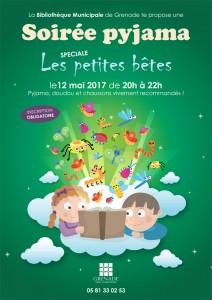 Soirée Pyjama - Spéciale petites bêtes @ Bibliothèque Municipale | Grenade | Languedoc-Roussillon Midi-Pyrénées | France