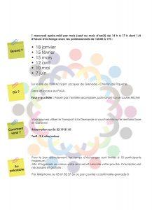 La Pause des aidants @ EHPAD Saint-Jacques  | Grenade | Occitanie | France