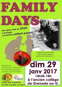 Family Days - Familia @ Salle Roland Garros   Grenade   Occitanie   France