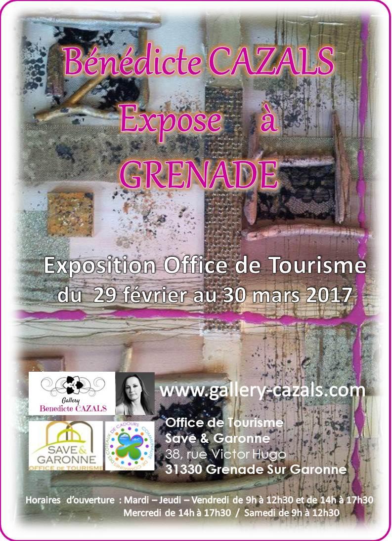Exposition office de tourisme mairie de grenade - Office du tourisme grenade ...