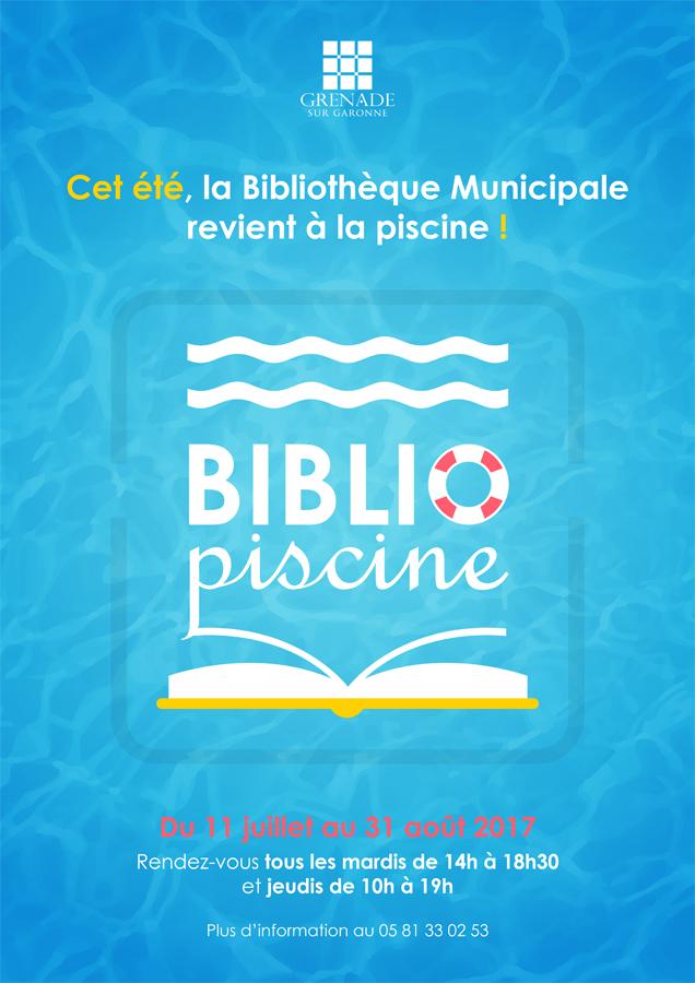 Bibliopiscine @ Piscine Municipale | Grenade | Occitanie | France