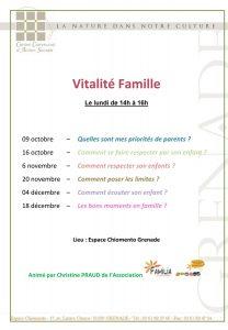 "Ateliers ""Vitalité famille"" @ Espace Chiomento | Grenade | Occitanie | France"