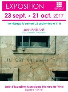 Exposition : Le camp de Rivesaltes @ Salle d'Expostion Municipale Léonard de Vinci | Grenade | Occitanie | France