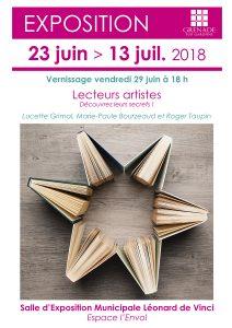 Exposition : Les lecteurs artistes @ Salle d'Expostion Municipale Léonard de Vinci | Grenade | Occitanie | France