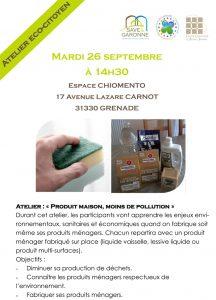 Atelier eco-citoyen