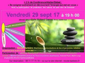 Conférence / Atelier / Débat @ Espace l'Envol - salle Roland Garros