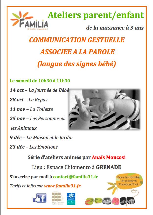 Familia 31 : langue des signes bébé