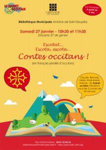 Contes occitans @ Bibliothèque Municipale Antoine de Saint-Exupéry | Grenade | Occitanie | France