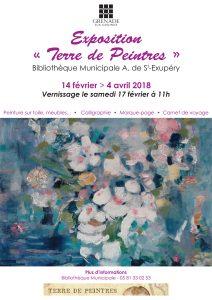 Exposition Terre de Peintres @ Bibliothèque Municipale Antoine de Saint-Exupéry | Grenade | Occitanie | France