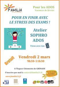 POUR EN FINIR AVEC LE STRESS DES EXAMS !