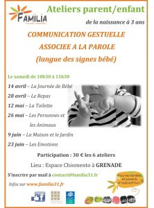Cycle d'ateliers de communication gestuelle associée à la parole