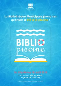 Bibliopiscine @ Piscine Municipale de Grenade | Grenade | Occitanie | France