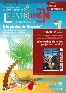 Festiciné à la piscine @ Piscine Municipale de Grenade | Grenade | Occitanie | France