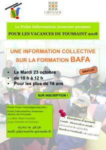 PIJ - Information formation BAFA