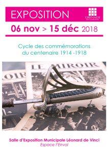 Exposition Commémorations // 1914/1918 : 100 ans après @ Salle d'Exposition Municipale Léonard de Vinci | Grenade | Occitanie | France