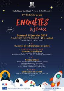 La Nuit de la lecture @ Bibliothèque Municipale Antoine de Saint-Exupéry | Grenade | Occitanie | France