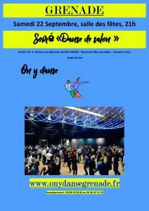 """Soirée """"Danse de salon"""" @ Salle des Fêtes"""