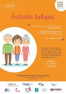 Activités ludiques aidants/aidés