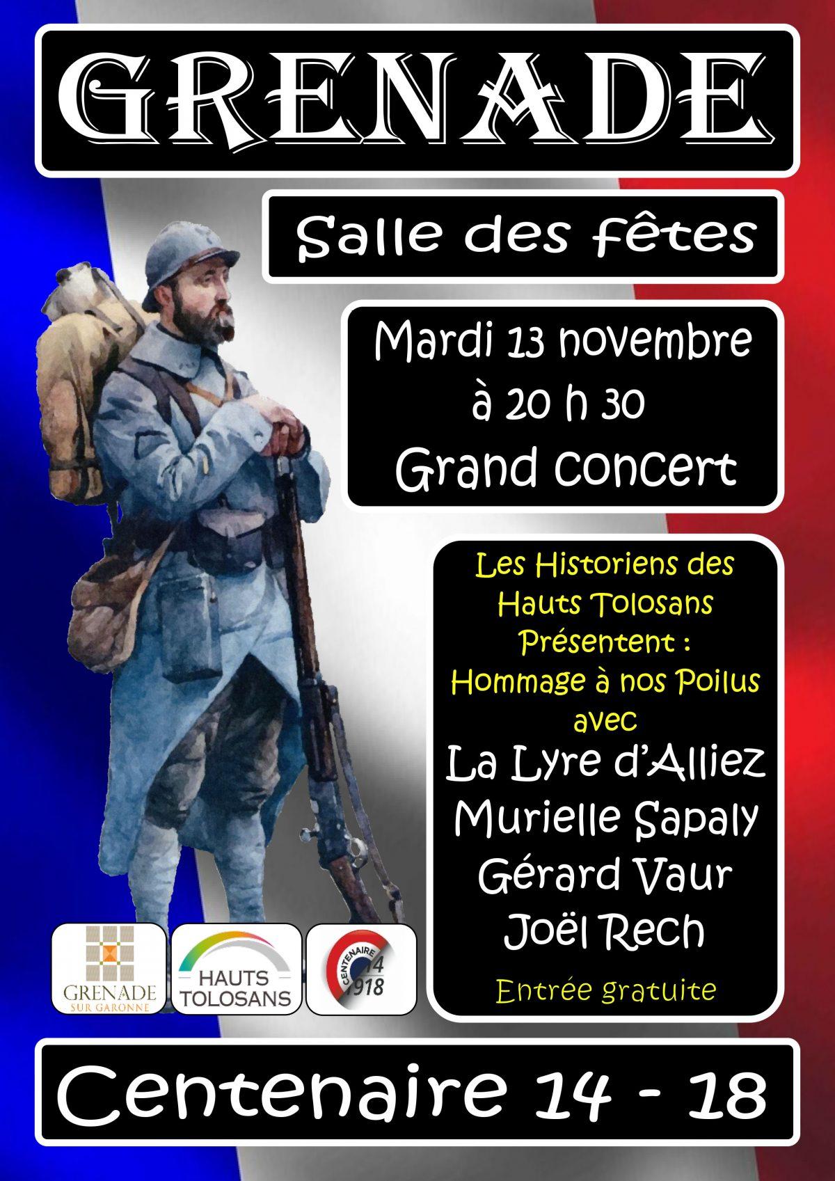 Grand Concert – Centenaire 14-18