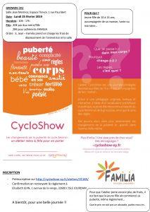 CycloShow @ Salle Jean Mermoz