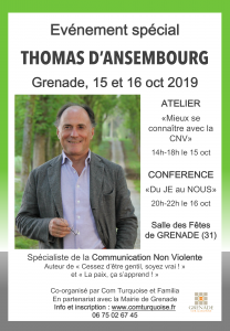 Conférence Thomas d'ANSEMBOURG