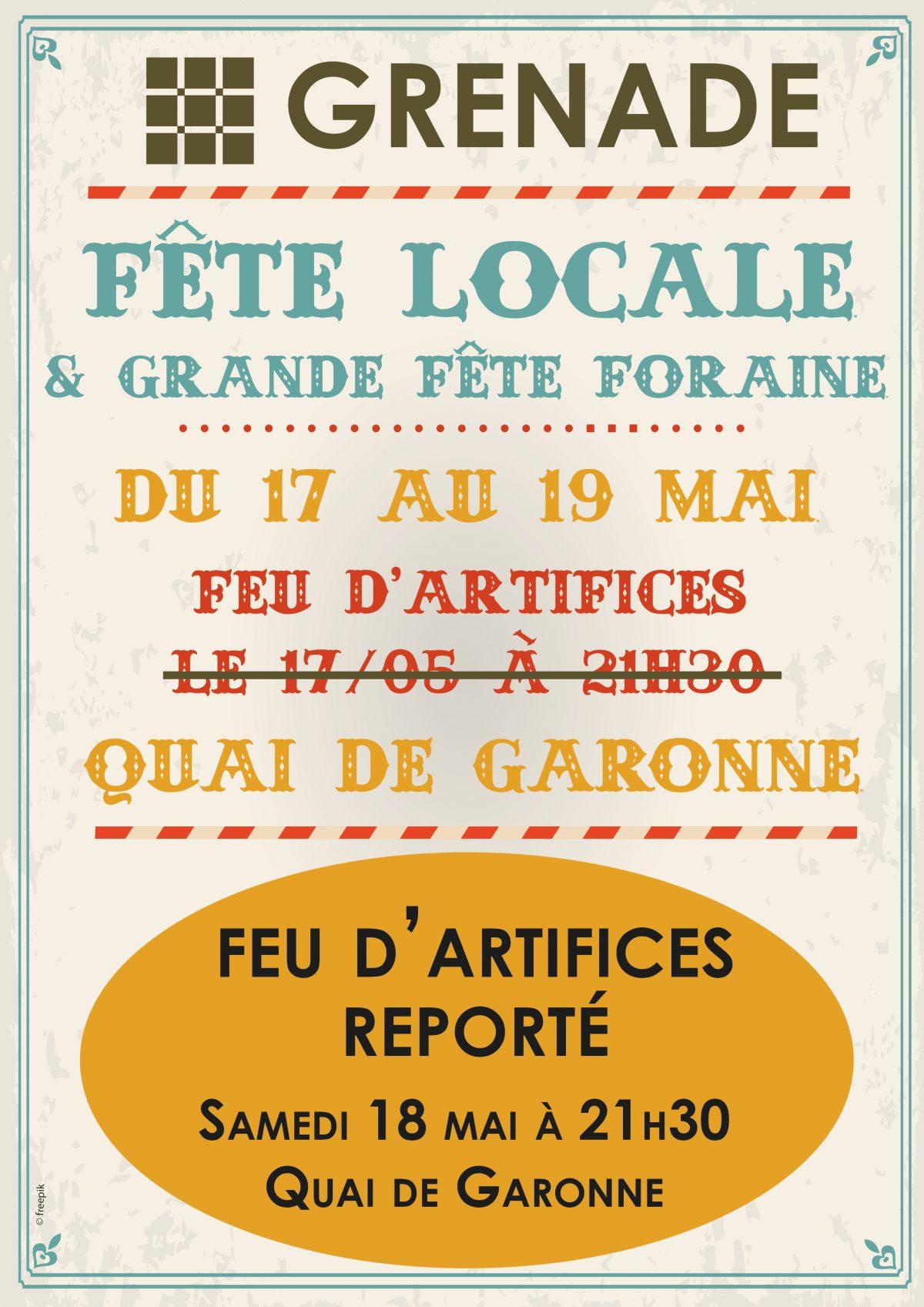 REPORT FEU D'ARTIFICES