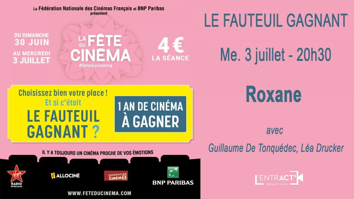 Fête du cinéma : Gagnez 1 an de cinéma à L'Entract