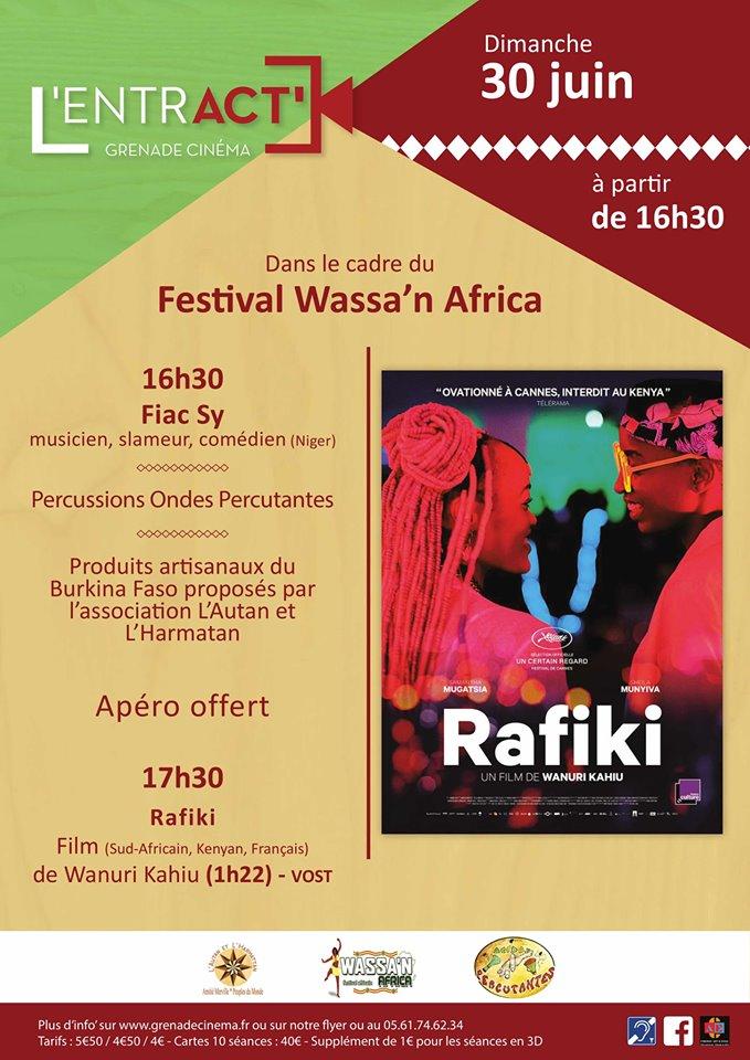 Festival Wassa'n Africa au cinéma de Grenade