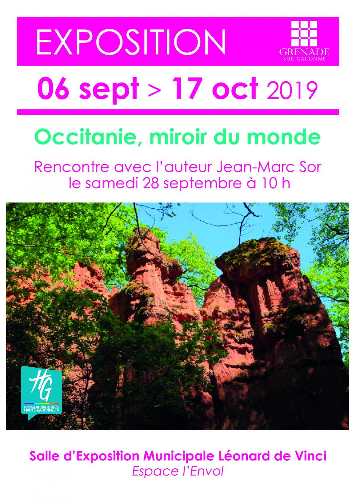 Exposition Occitanie, miroir du monde