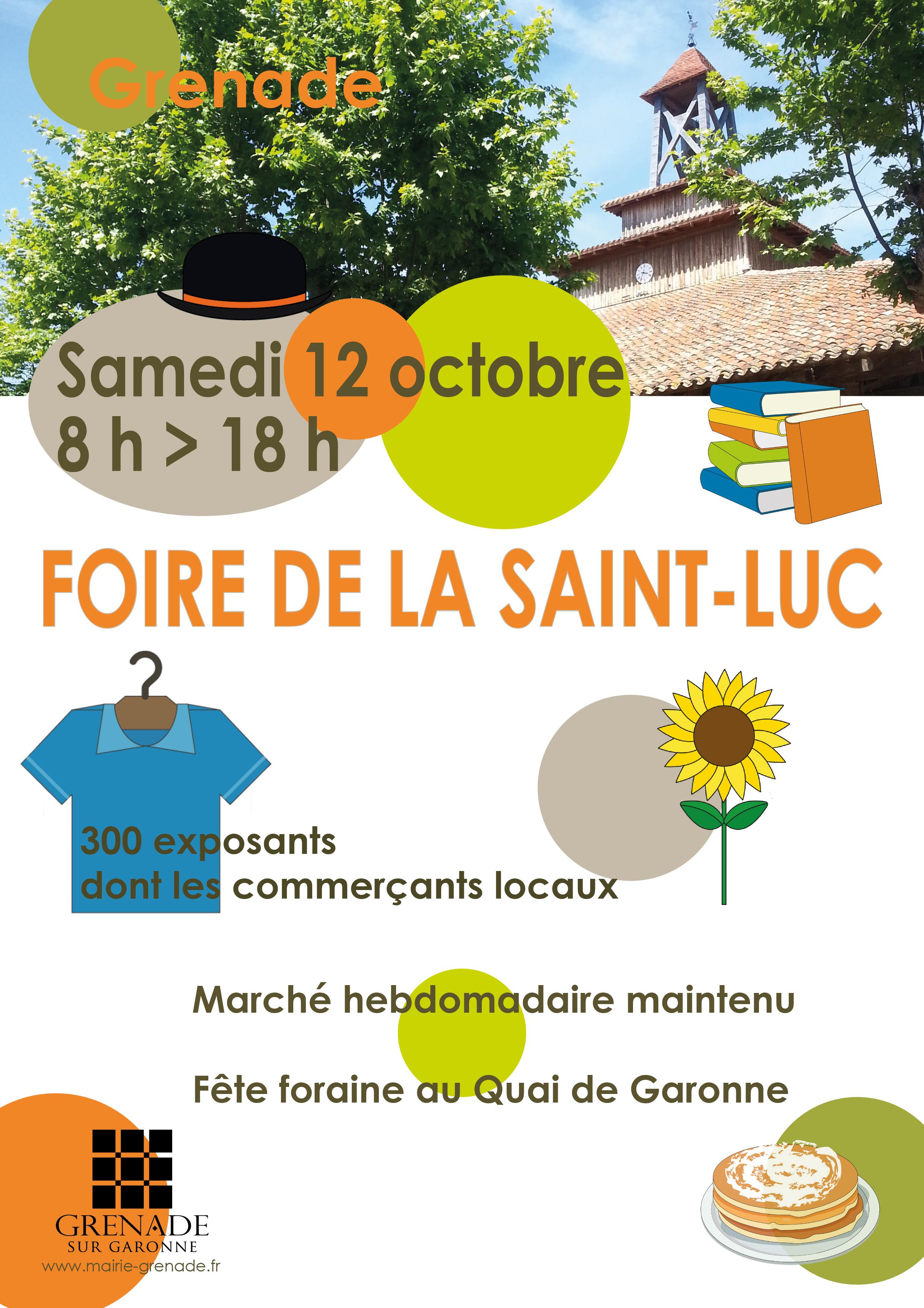 Saint Lucas Calendrier.Foire De La St Luc Mairie De Grenade