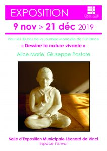 "Exposition ""Dessine ta nature vivante"" @ Salle d'exposition municipale 