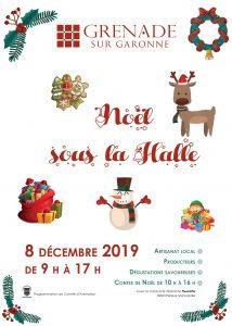 Ouverture candidature Noël sous la Halle @ Halle | Grenade | Andalousie | Espagne
