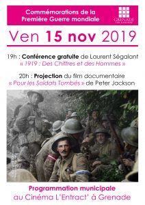 Ciné-conférence sur la Première Guerre mondiale @ cinéma L'Entract | Grenade | Occitanie | France