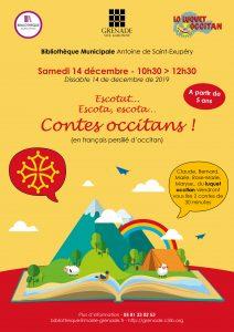 Contes occitans à la Bibliothèque @ Bibliothèque municipale | Grenade | Occitanie | France