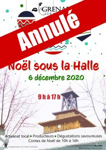 Marché de Noël : EVENEMENT ANNULE