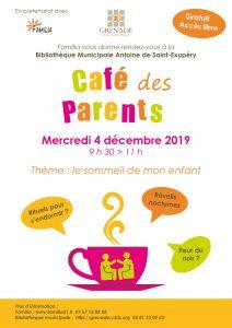 Café des parents sur le thème : Le sommeil de mon enfant @ Bibliothèque municipale | Grenade | Occitanie | France
