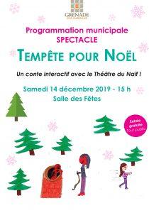 Tempête pour Noël @ Salle des fêtes de Grenade | Grenade | Occitanie | France