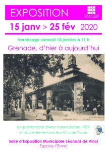 Exposition Grenade d'Hier à Aujourd'hui @ Bibliothèque Saint-Exupéry | Grenade | Occitanie | France