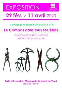 Exposition les Compas @ Bibliothèque municipale Saint Exupéry | Grenade | Occitanie | France