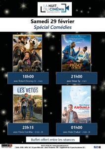 Nuit du Cinéma à l'Entract' - spécial Comédies - @ Cinéma L'Entract' | Grenade | Occitanie | France
