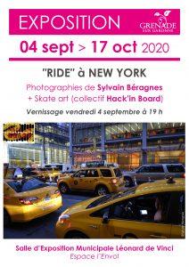 "Exposition ""Ride"" à New York @ Salle d'exposition Léonard de Vinci | Grenade | Occitanie | France"