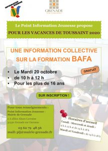 INFORMATION COLLECTIVE SUR LA FORMATION BAFA