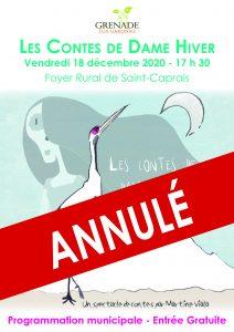 Noël à Saint-Caprais - Spectacle de contes