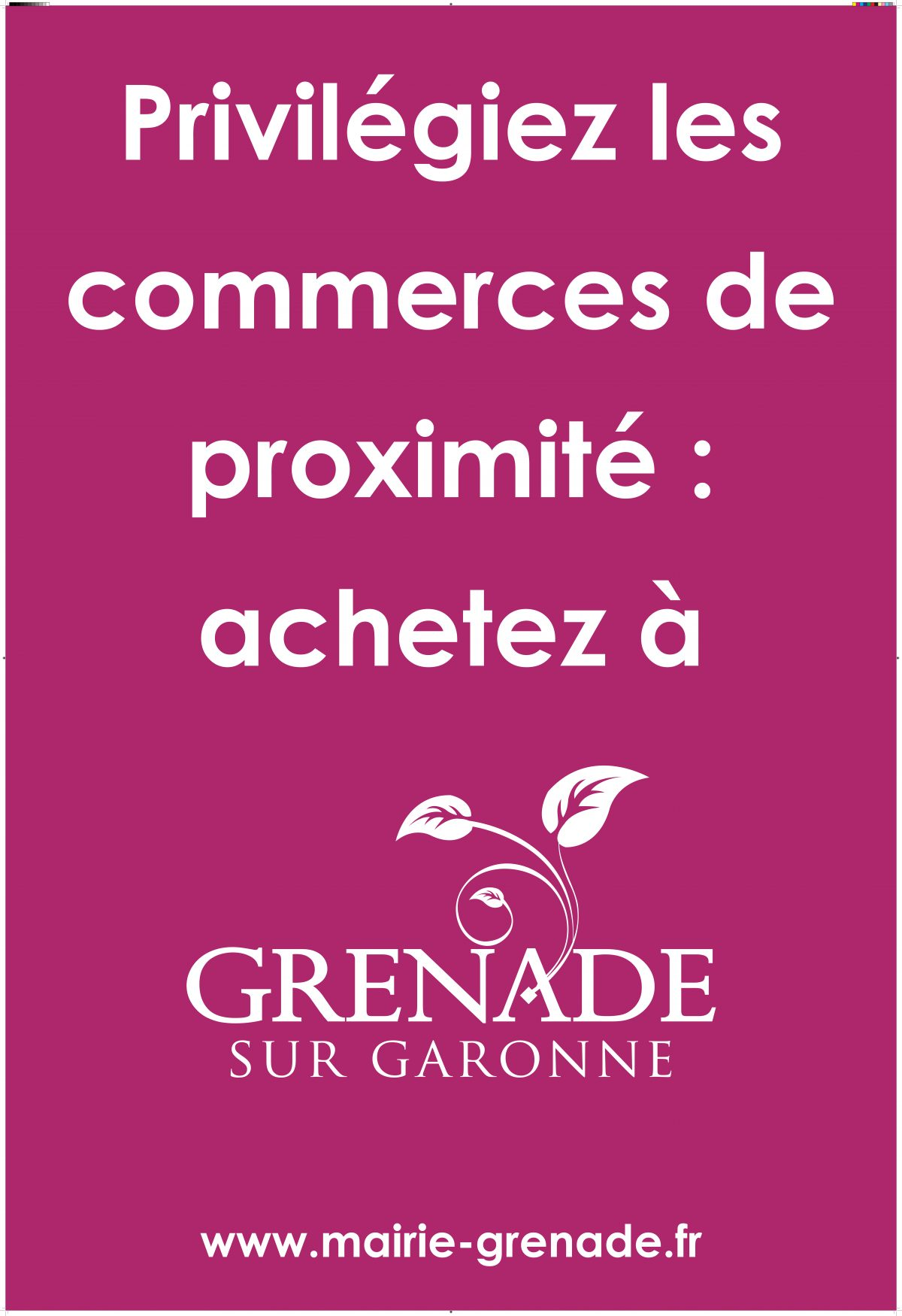 Aidons les commerces de proximité de Grenade