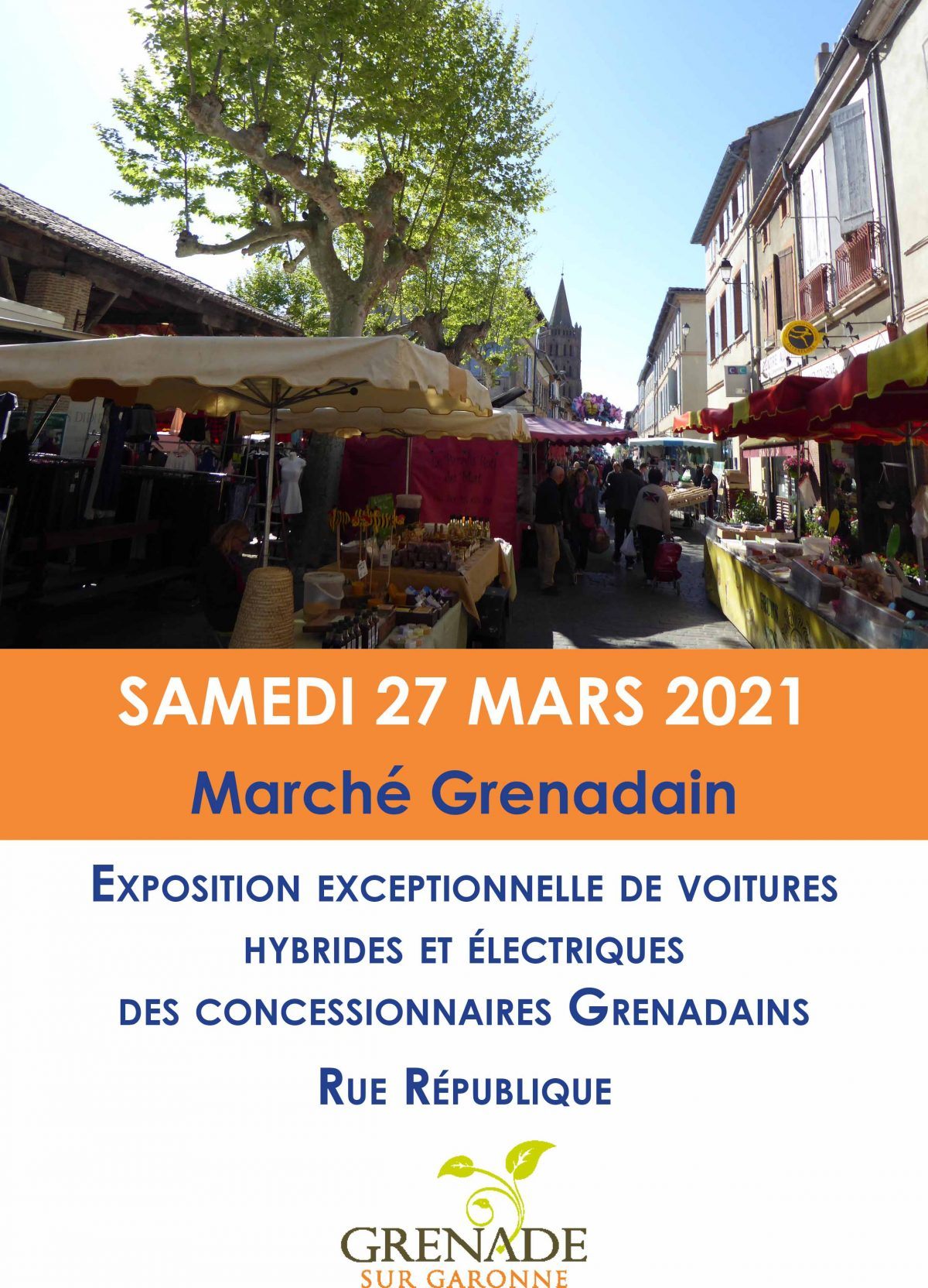 Marché Grenadain – Exposition exceptionnelle de voitures